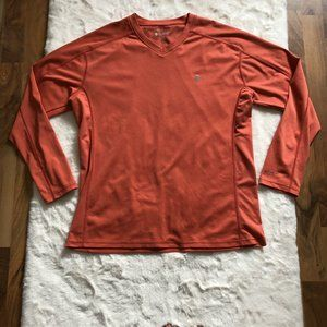 Coolibar activewear top UPF 50 UV protection SZ L